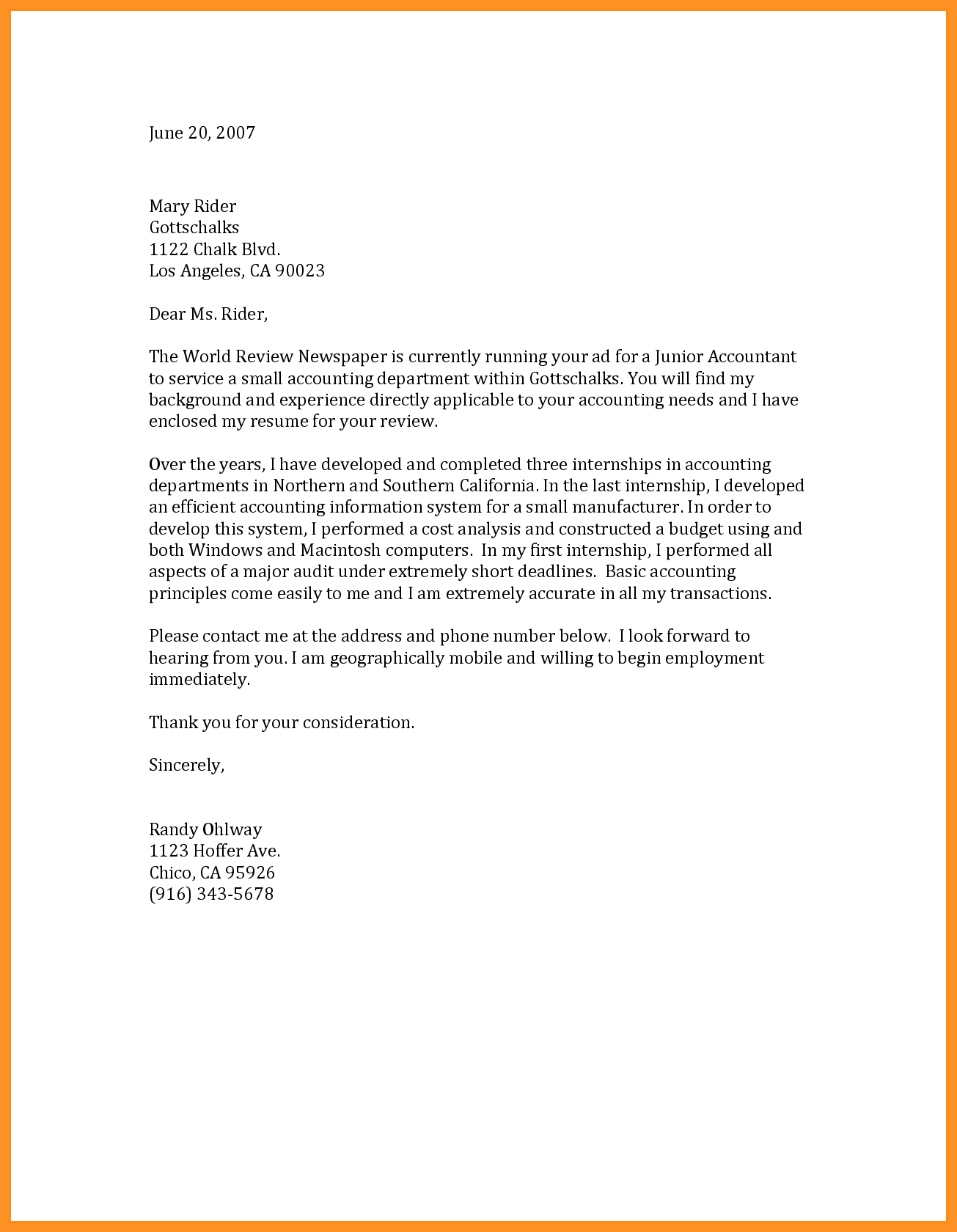 Resume Letter Sample For Job from img2.pngio.com