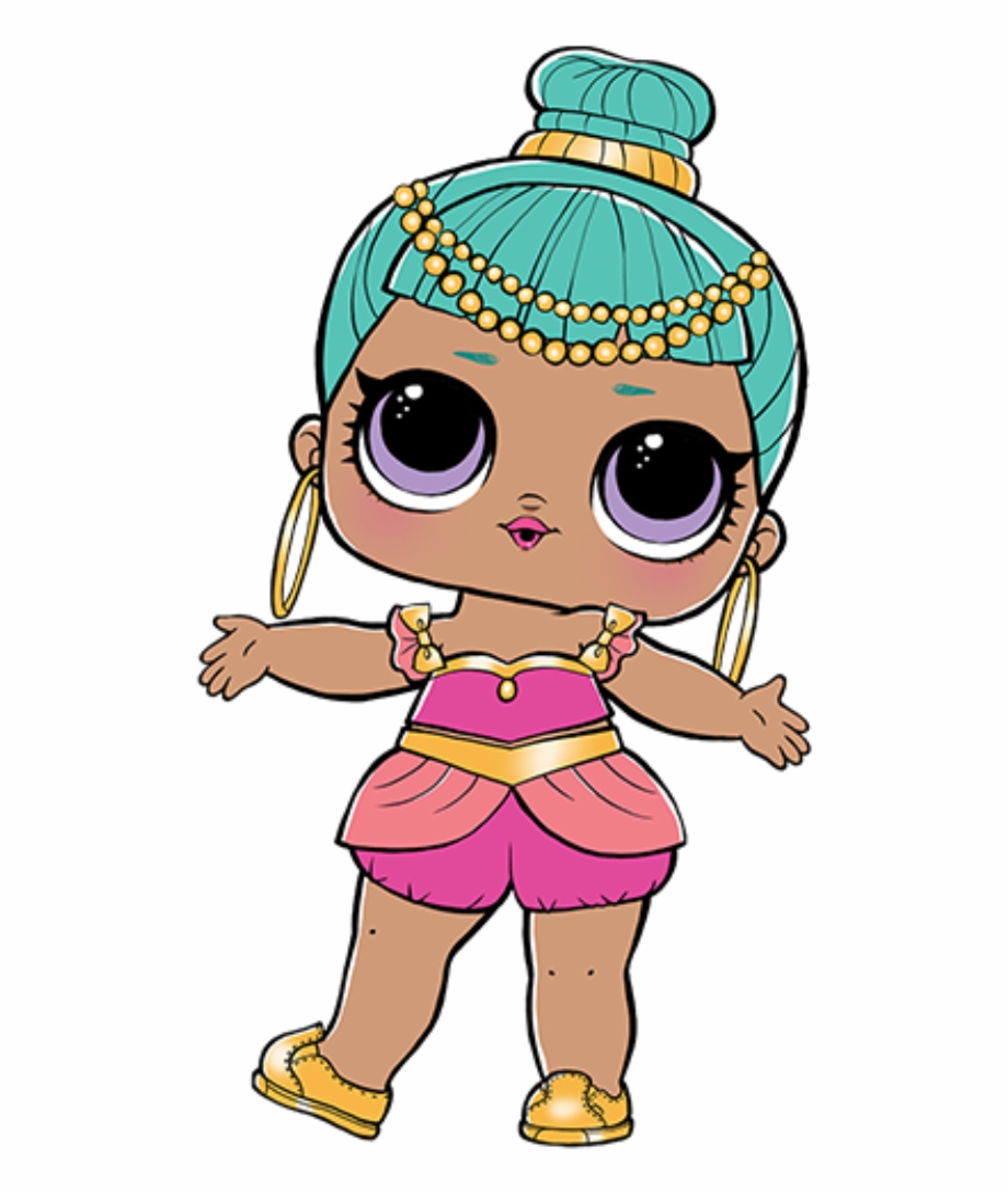 Png Of Dolls - Genie Lol Doll Free PNG Images & Clipart Download #108423 - Sccpre.Cat