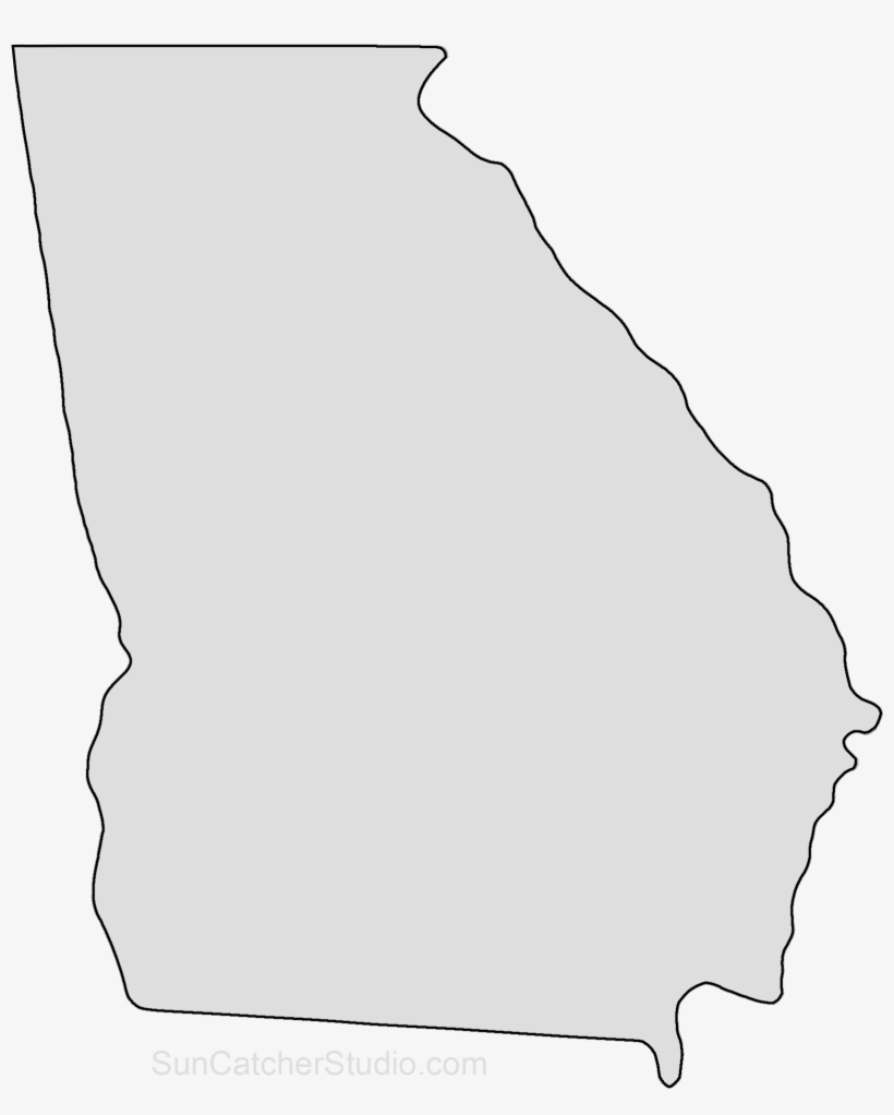 Map Of Georgia Outline.State Of Georgia Map Png Free State Of Georgia Map Png Transparent