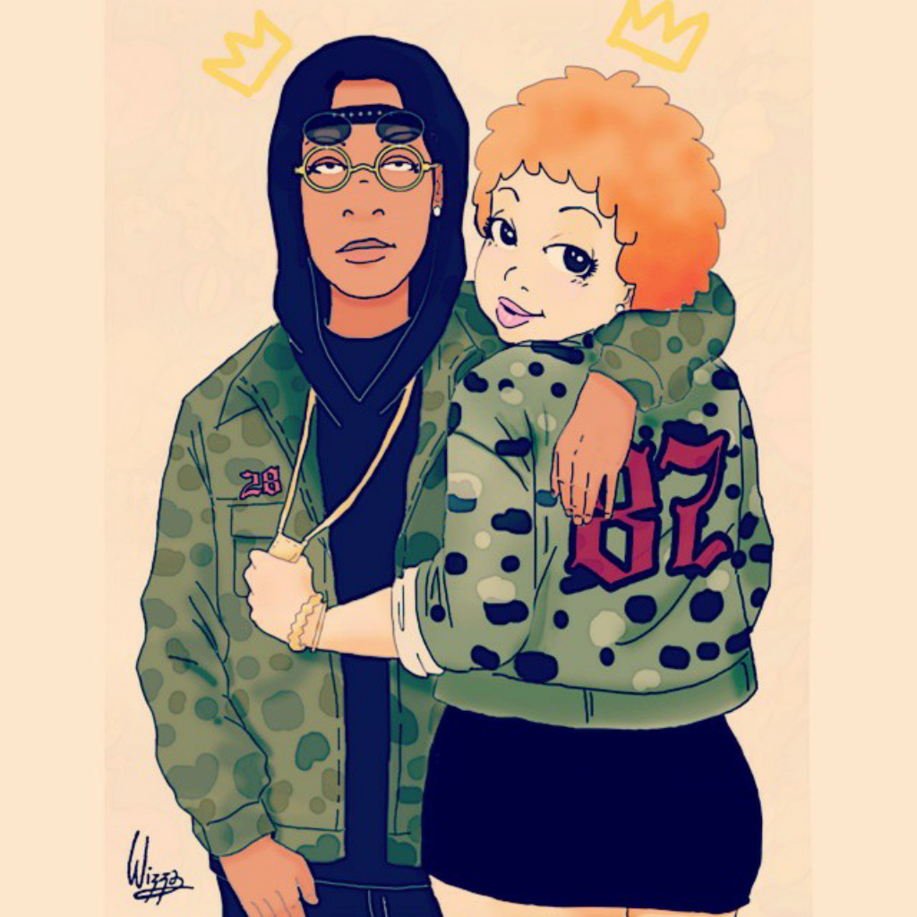 Dope Cartoon Couples Png - Get down on it discovered by ♚wizzadaking♚ on We Heart It