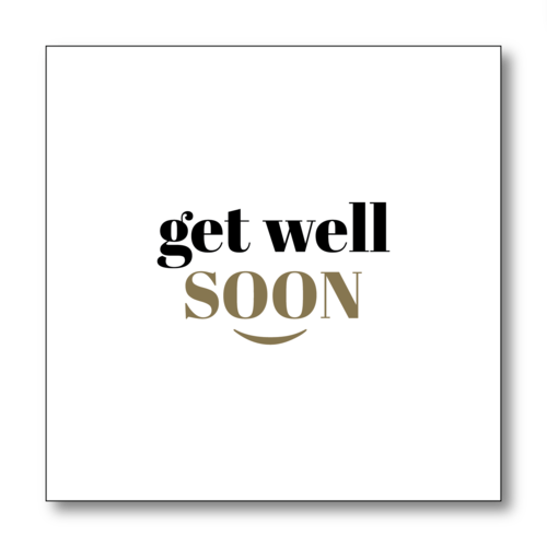 Get Well Soon Png Black And White - Get Well Soon — GODsent Greetings