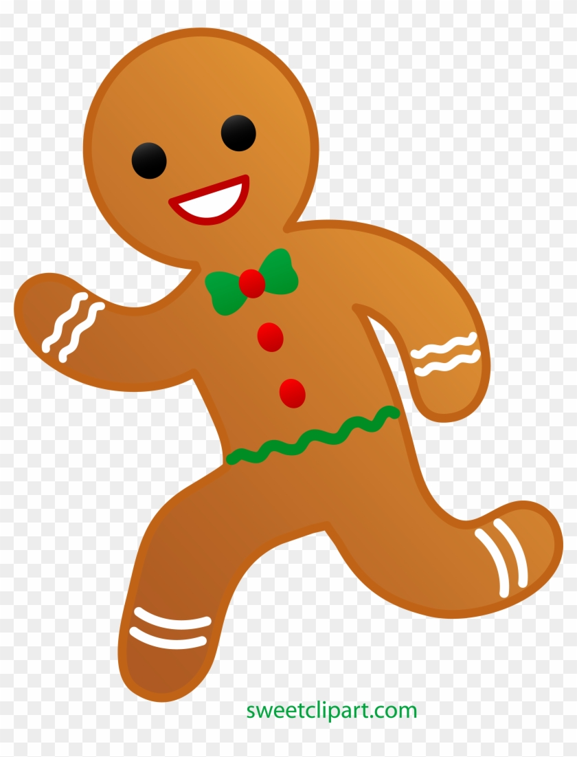 Gingerbread People Png - Gingerbread Clip Art - Gingerbread Man Running Away - Free ...
