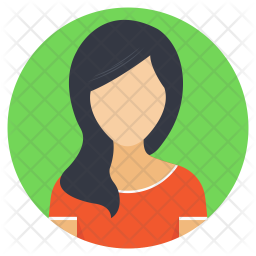 Girl Icon Of Flat Style Available In S Png Images Pngio
