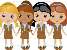 Brownie Png Girl Scouts - Girl Scout Daisy PNG HD Transparent Girl Scout Daisy HD.PNG Images ...