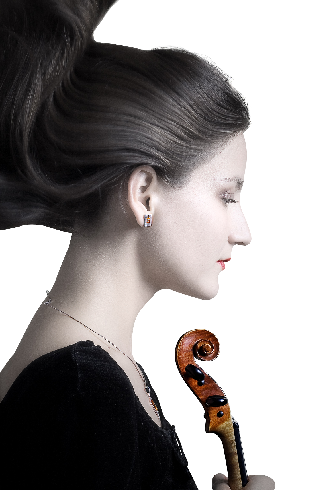 Cool Girl Violin Png - Girl With Violin PNG Image - PngPix