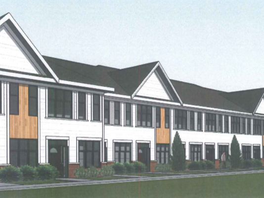 Senior Housing Png - Glendale senior housing project includes townhome units for caregivers