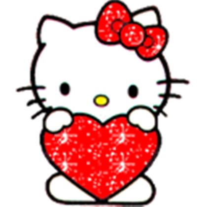 Mickey Mouse Kitty Roblox Glitter Hello Kitty Heart Roblox 1553590 Png Images Pngio