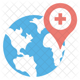 Global Health Icon Of Flat Style Avail Png Images Pngio