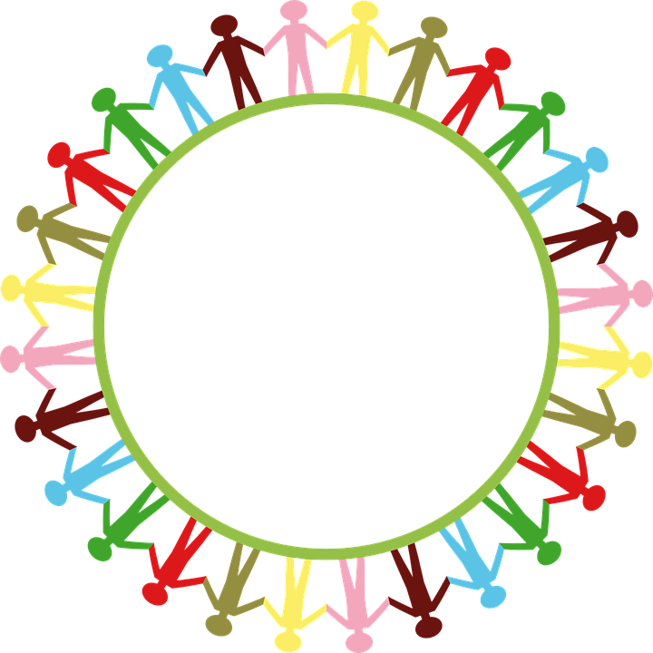 Circle Of People Holding Hands Png - Globe World Earth - Free vector graphic on Pixabay
