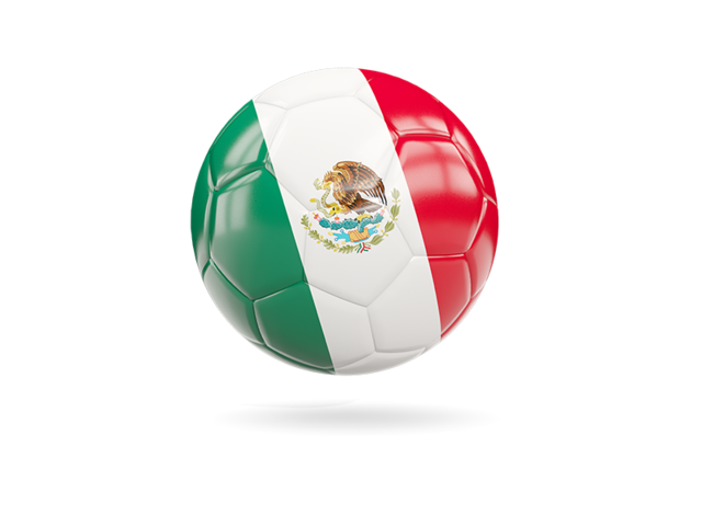 Mexico Soccer Png - Glossy soccer ball. Illustration of flag of Mexico