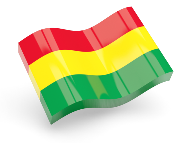 Flag Of Bolivia Png - Glossy wave icon. Illustration of flag of Bolivia