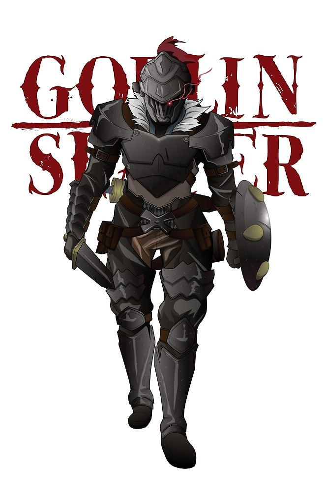 "Goblin Slayer Transparent - Goblin Slayer Full Body Armor - Clear Dark"" by sasuga8 