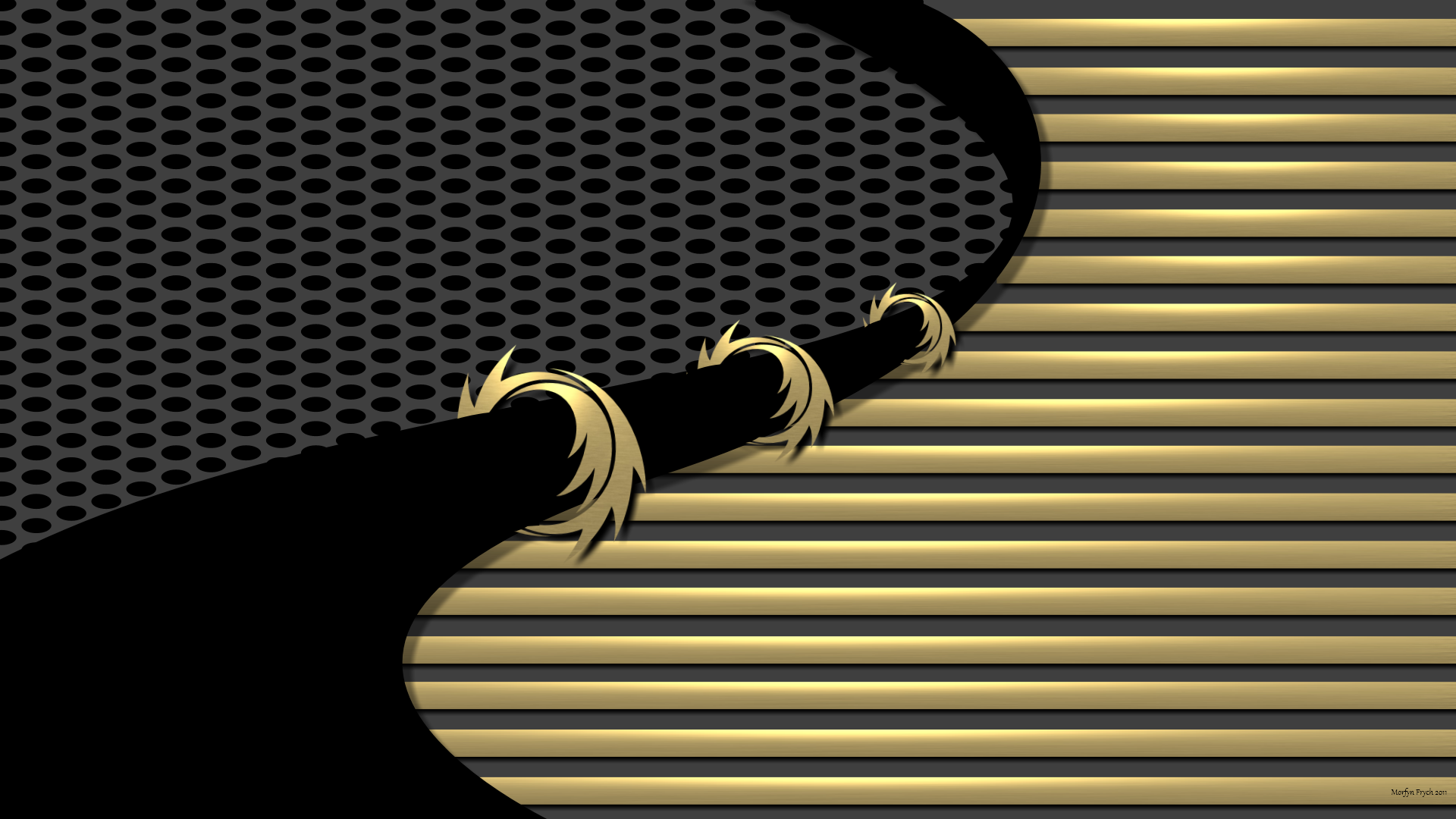 Gold And Black Wallpapers Wallpaper Ca 935140 Png Images Pngio
