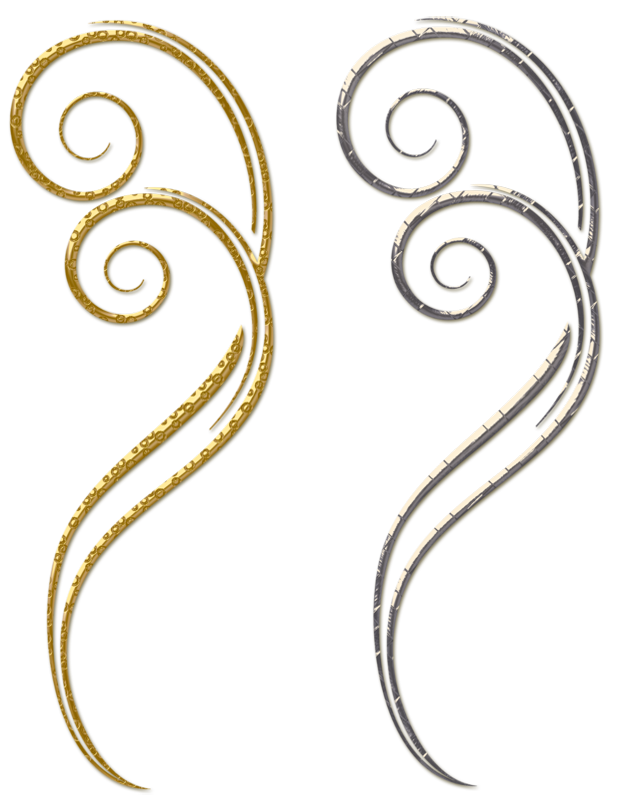 Silver Ornament Png - Gold and Silver Decorative Ornaments PNG Clipart | Gallery ...