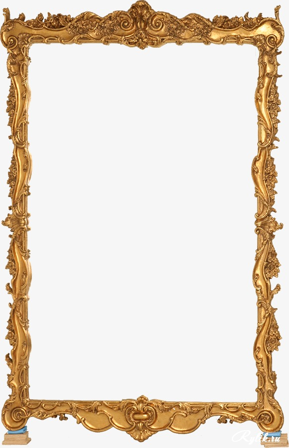 Gold Frame Frame Clipart Mirror Europ 612656 Png Images Pngio