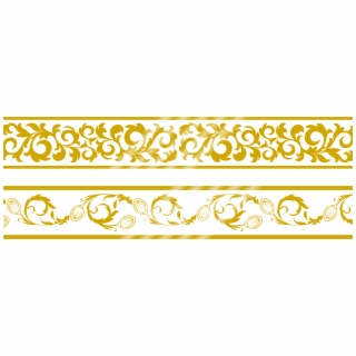 Gold Lace Shawl Png - Gold Lace Border Png , Png Download - Gold Lace Border Png - Free ...