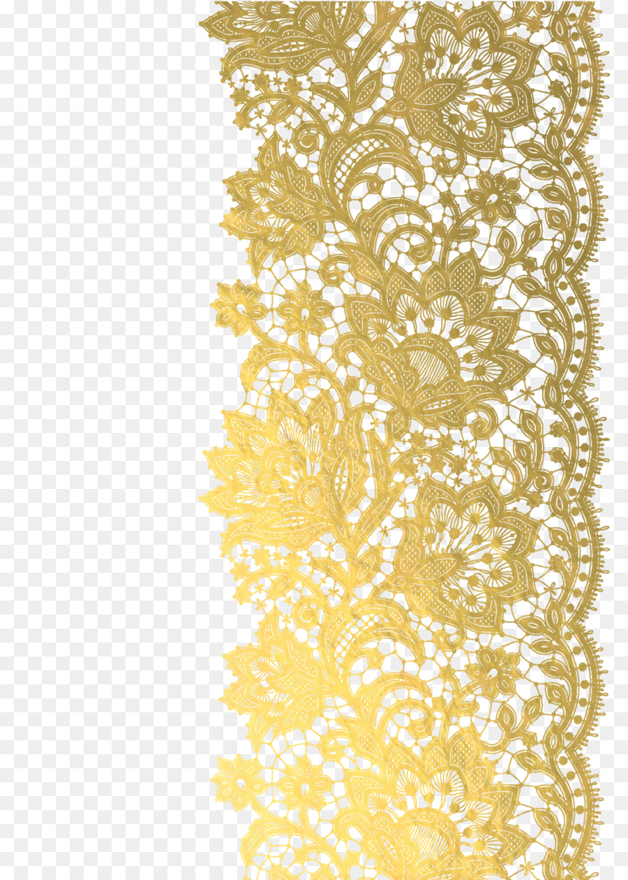 Gold Lace Ribbon Png - Gold Lace Png & Free Gold Lace.png Transparent Images #89963 - PNGio