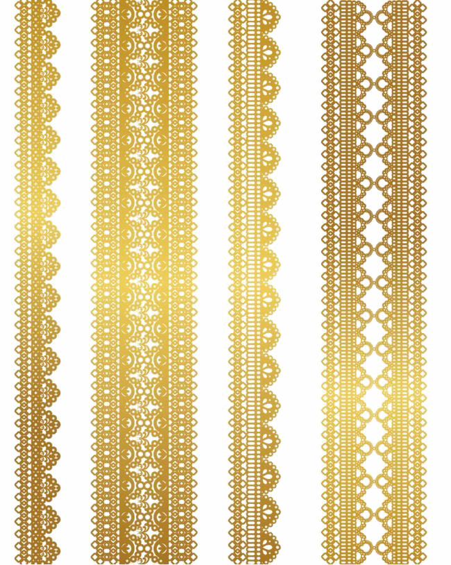 Gold Lace Shawl Png - Gold Lace Png Pic - Gold Vector Lace Pattern - High-resolution PNG ...