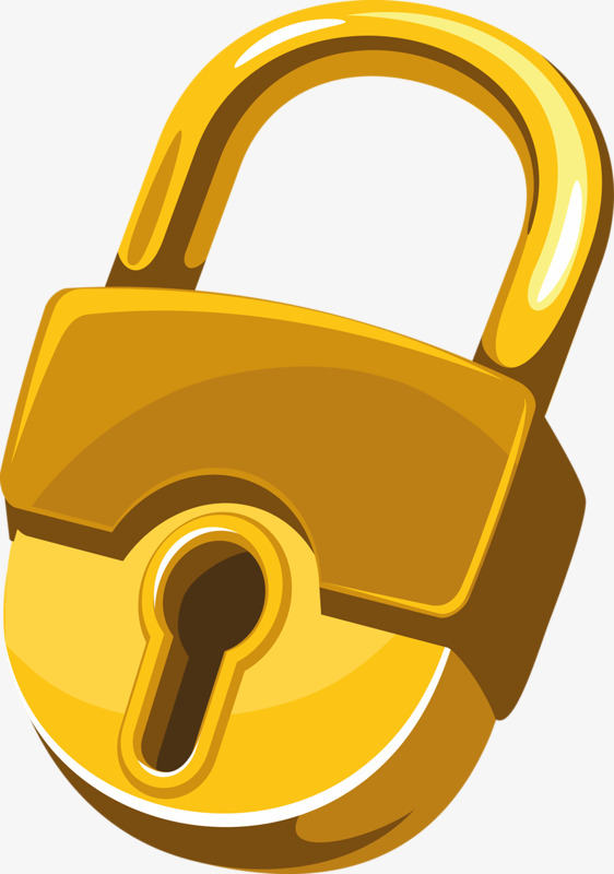 gold keyhole clipart - 562×800