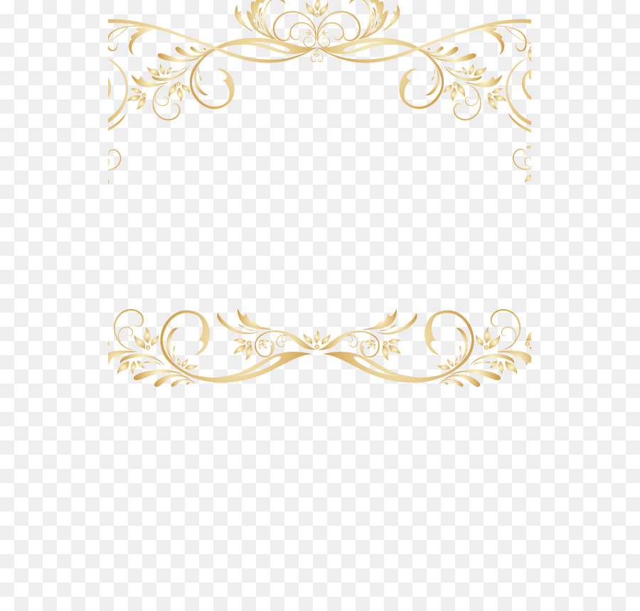 Gold Lace Ribbon Png - Gold Pattern Background png download - 595*842 - Free Transparent ...