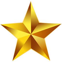 Gold Star Icon Png 3 » PNG Image #1197386 - PNG Images - PNGio