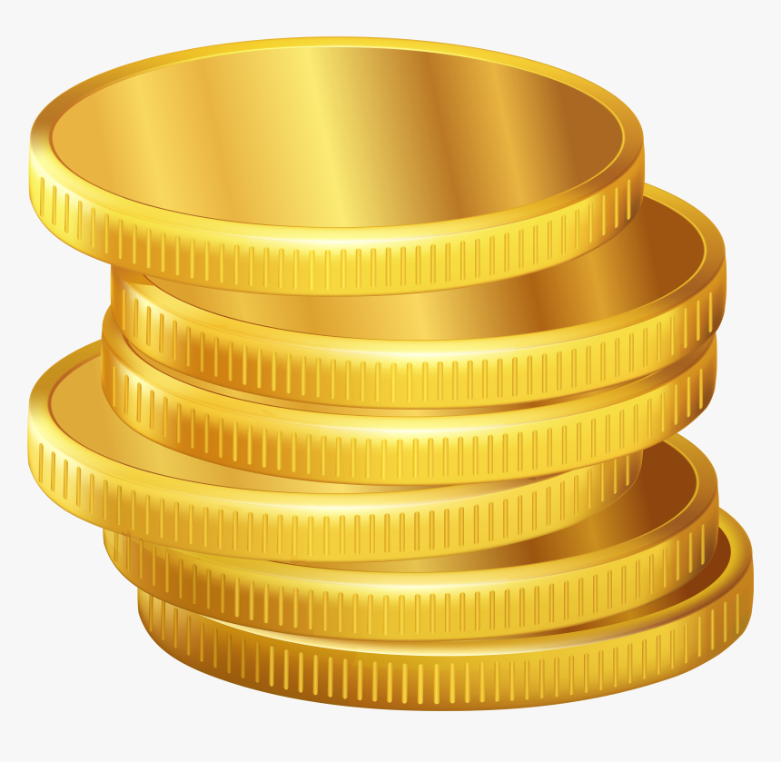 Coin Vector Png - Golden Coins Png Clipart - Gold Coin Vector Png, Transparent Png ...