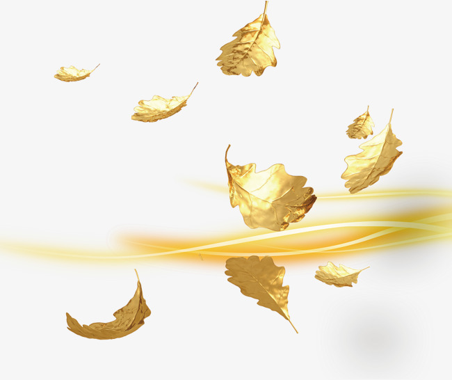 Golden Leaves Gold Leaf Png Transparen 507097 Png Images Pngio