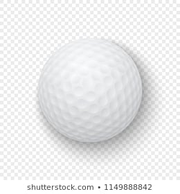 Golf Ball On Transparent Background Imag 755251 Png Images Pngio