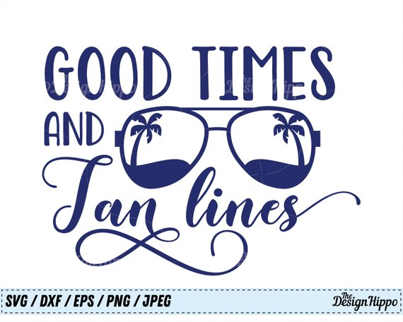 Tan Tree Png - Good Times and Tan Lines, SVG, Summer svg, Beach svg, Palm Tree ...