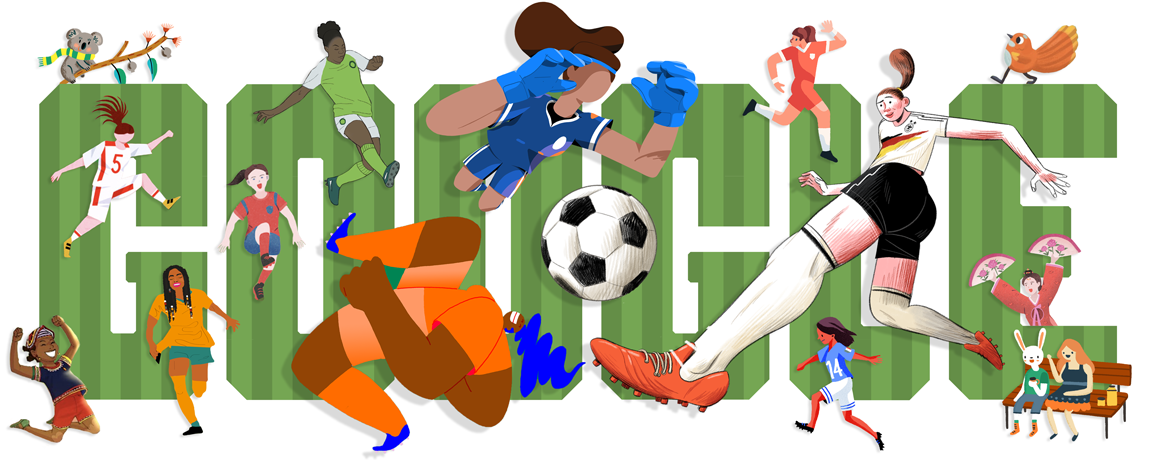 First Day Of Fall Png - Google Doodle Celebrates Start of the 2019 Women's World Cup | Time