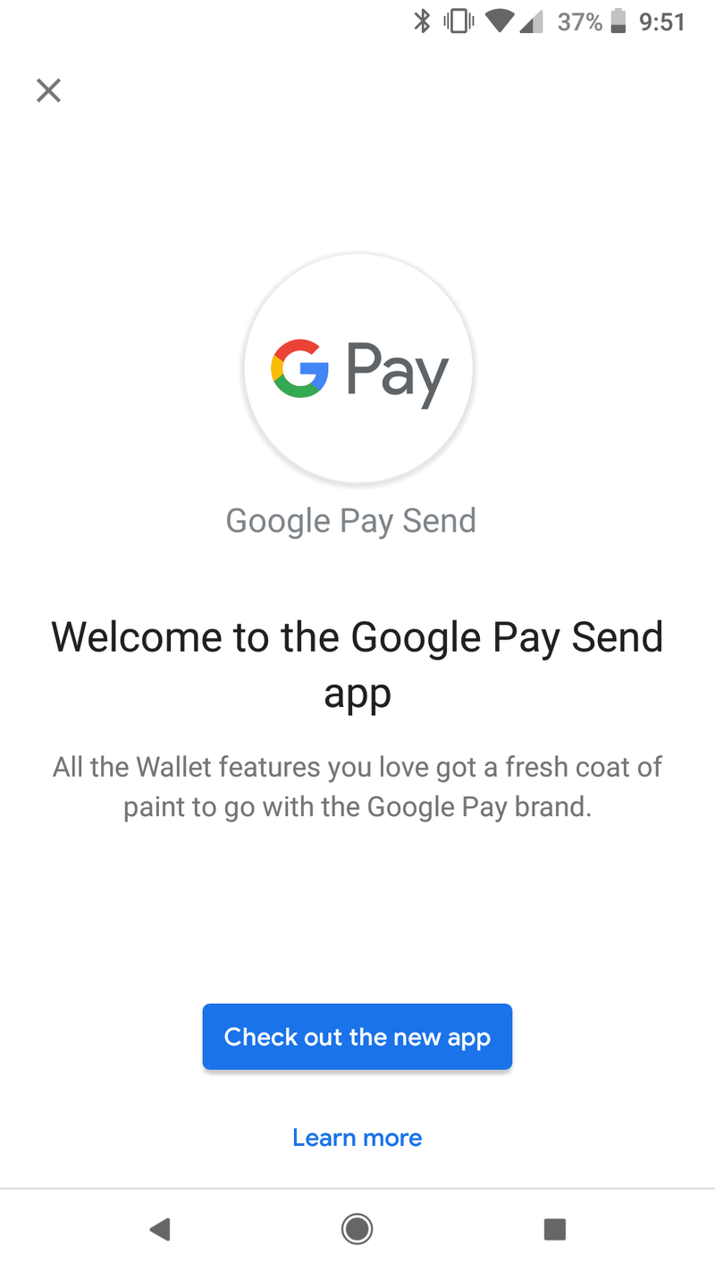 Google Pay Send Png - Google Pay Send now starting to replace Google Wallet - AIVAnet
