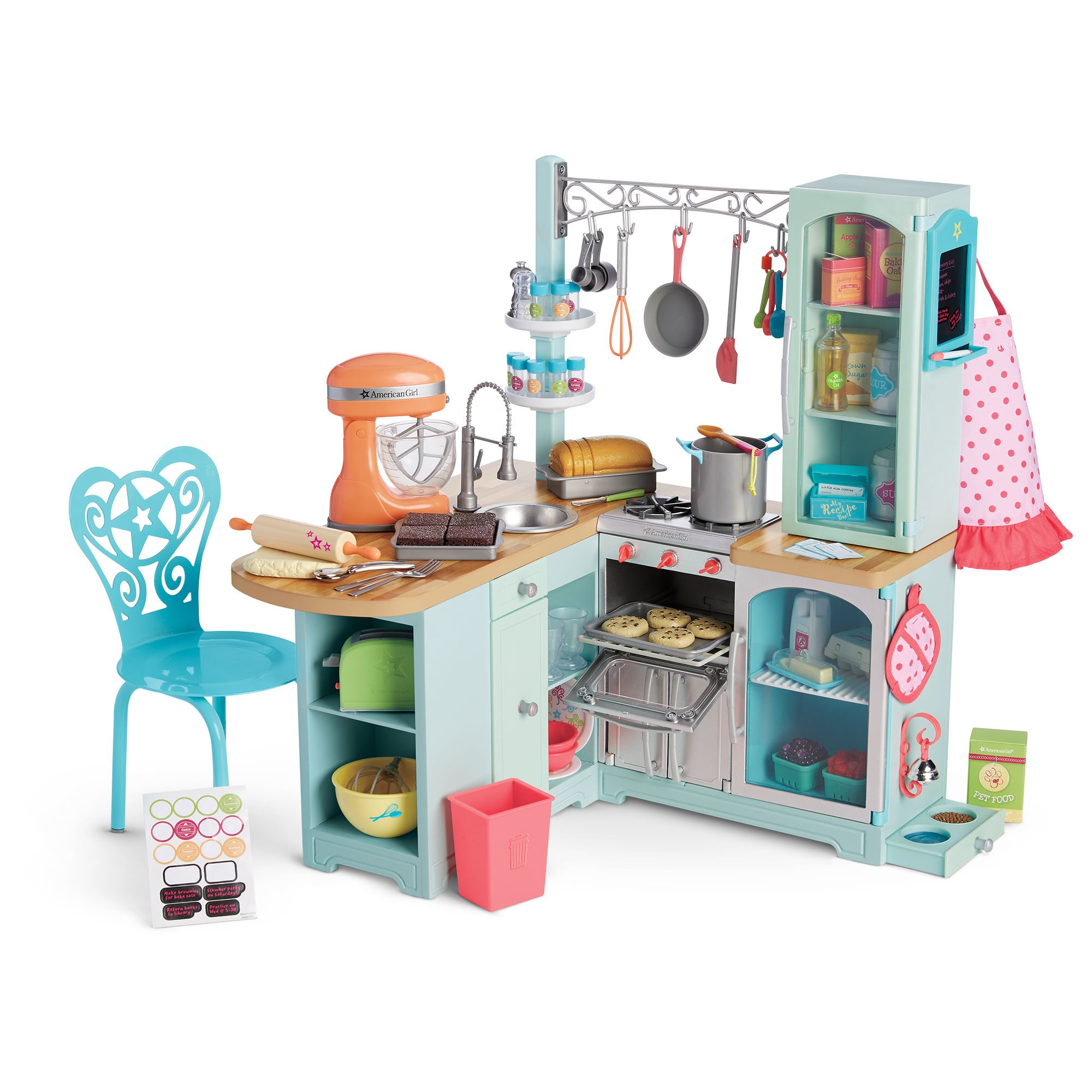 American Girl Doll Furniture Png - Gourmet Kitchen Set | American Girl Wiki | FANDOM powered by Wikia