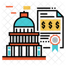 Government Bond Icon Of Dualtone Style Png Images Pngio