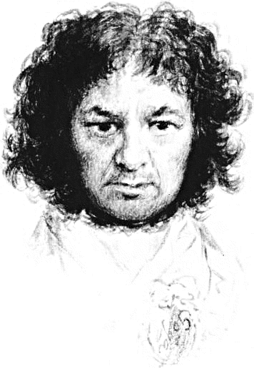 Self Portrait Png - Goya self portrait - /famous/painter/Goya_self_portrait.png.html