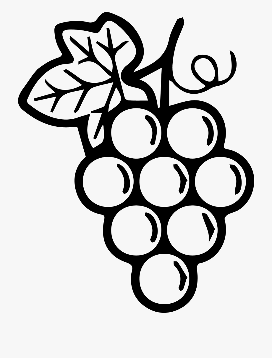 Grapes Black And White Png Free Grapes Black And White Png Transparent Images 100309 Pngio