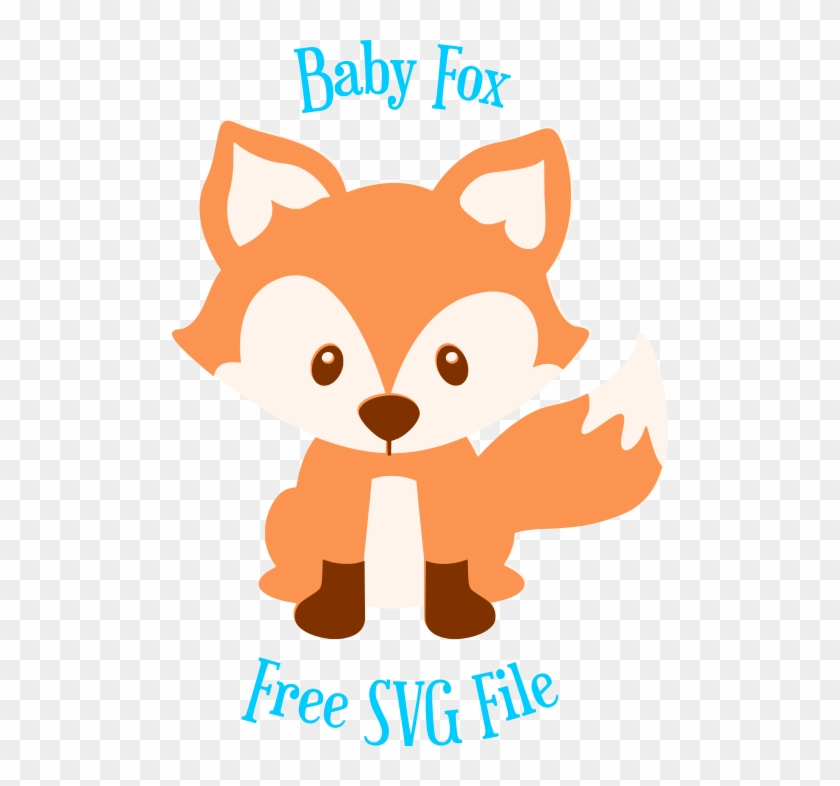 Baby Fox Png - Graphic Freeuse Library Free Fox Pre Png Pixels Baby - Fox Svg ...