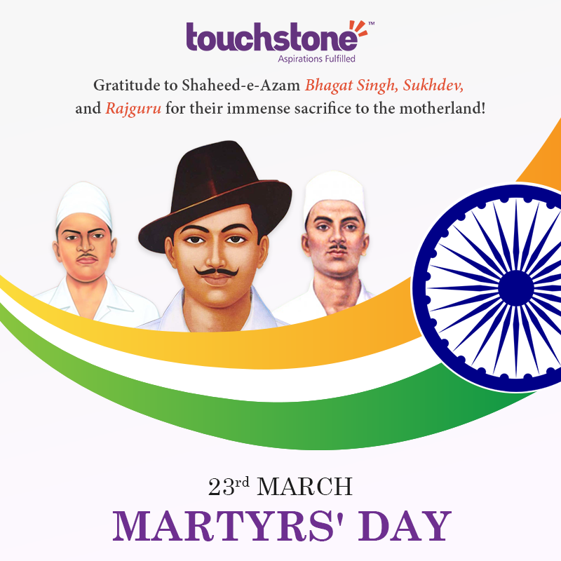 Martyrs Day In India Png - Gratitude to Shaheed-e-Azam Bhagat Singh, Sukhdev, and Rajguru for ...