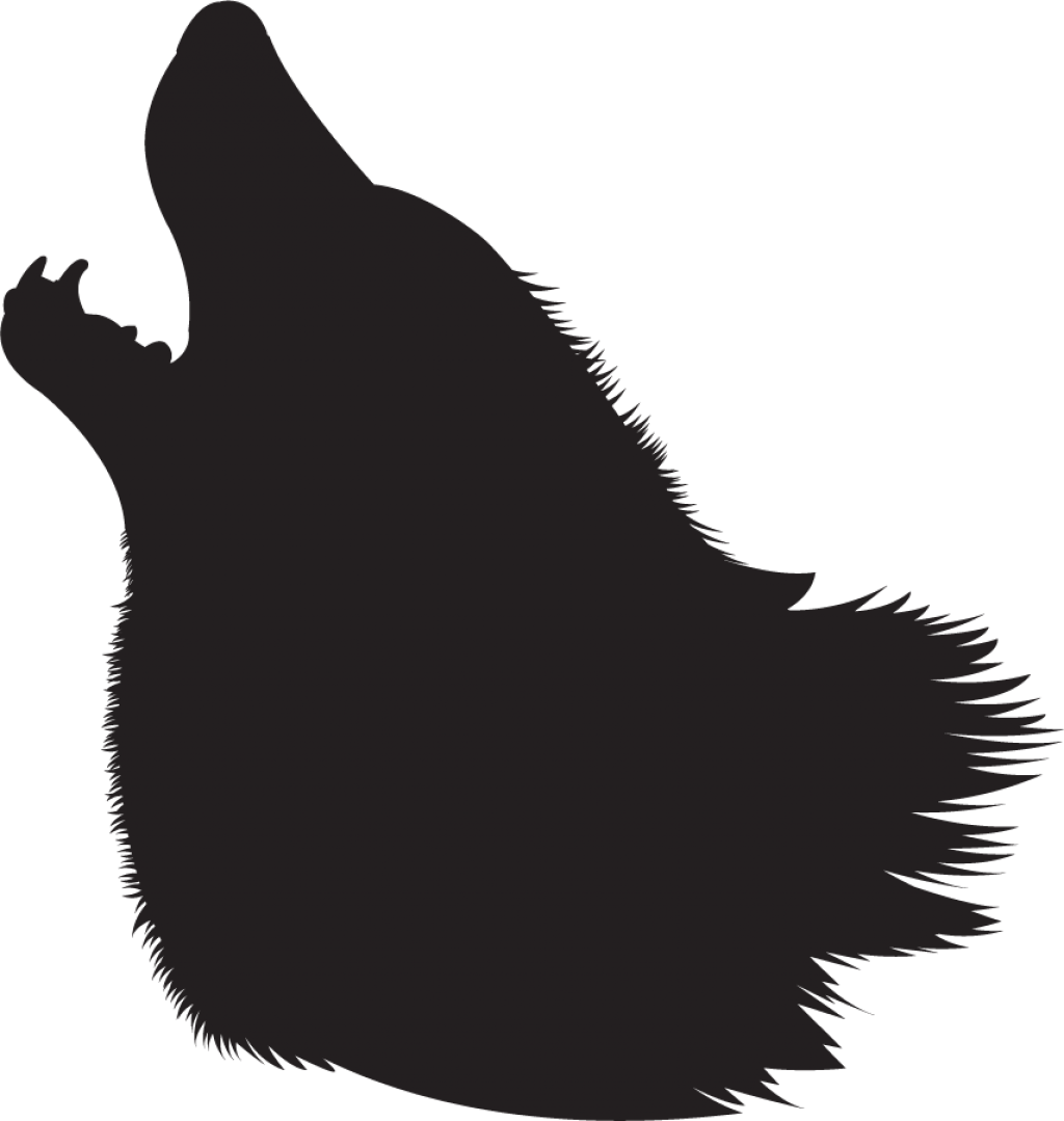 Wolf Head Silhouette Png - Gray wolf Silhouette Clip art - wolf png download - 1024*1079 ...