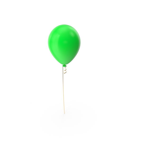 Balloon.png - Green Balloon PNG Images & PSDs for Download | PixelSquid - S111110022