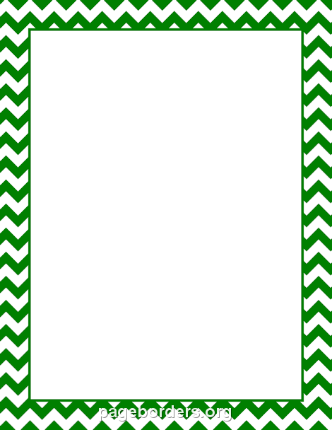 Green Chevron Png - Green Chevron Border | bulletin boards | Chevron borders, Yellow ...