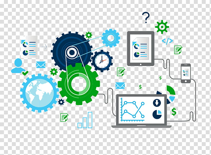 Process Automation Png - Green Circle, Business, Software Testing, Service, Business ...
