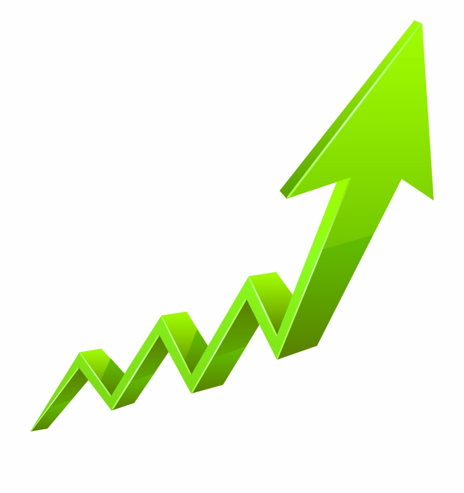 Growth Arrow Png - Green Growth Arrow Png - Clip Art Library