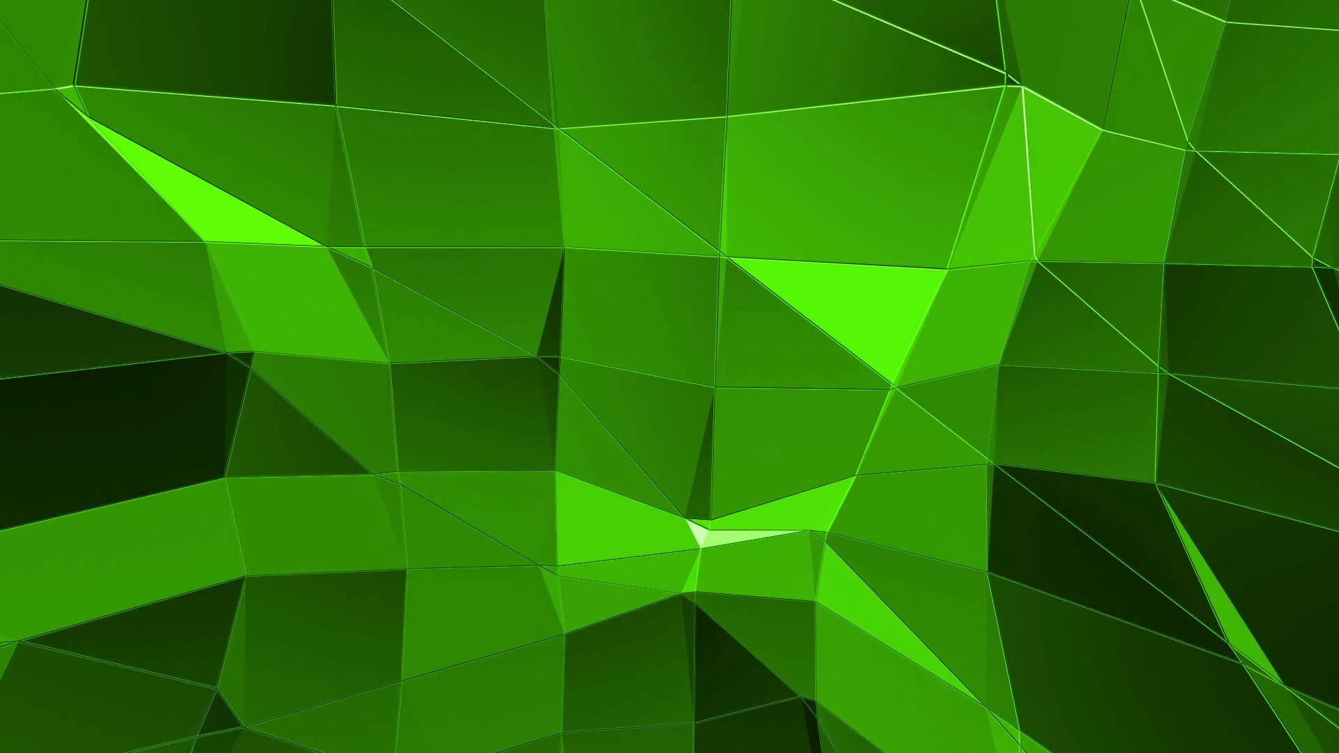 Cool Green Png - Green low poly background pulsating. Abstract low poly surface as ...