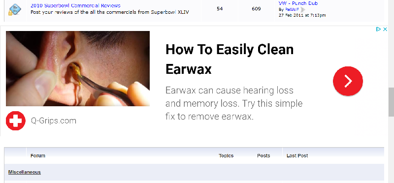 Gross Ear Wax Png - Gross ear wax remover ad on CIH.... - Commercials I Hate!