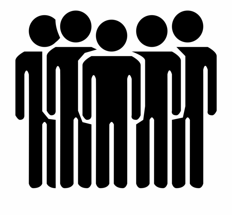 Group Of People Transparent - Group People Icon Transparent - People The Noun Project Free PNG ...