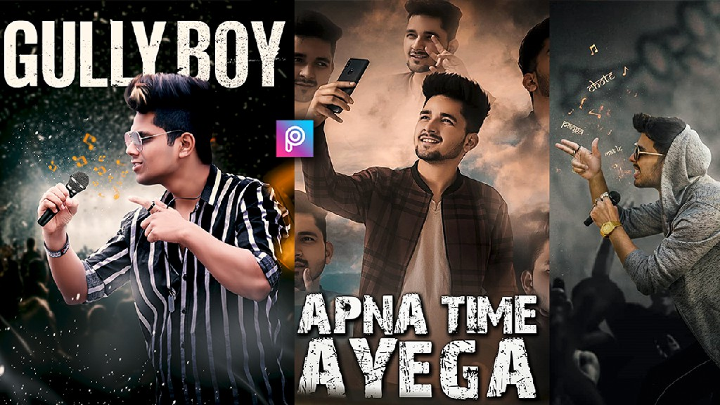 Gully Boy Movie Poster Editing Backgroun 911989 Png