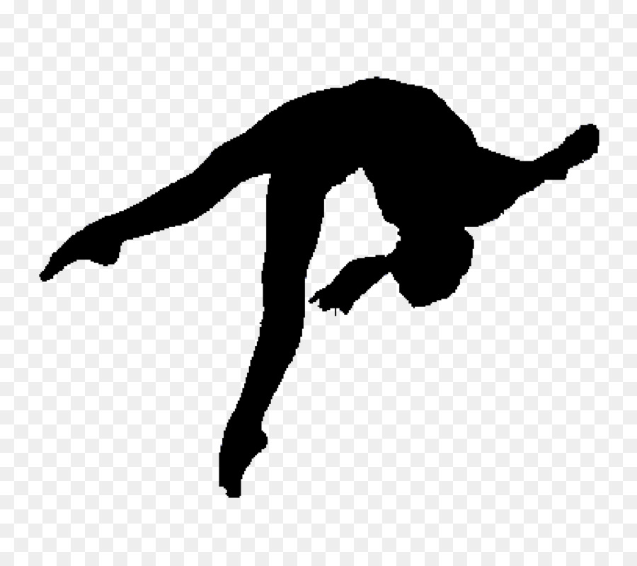 Black And White Gymnastics Png Amp Free Black And White