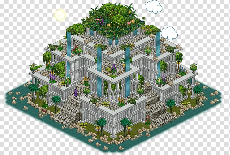 Mansion Family Png - Habbo Hanging Gardens of Babylon Palace Game, Mansion Family ...
