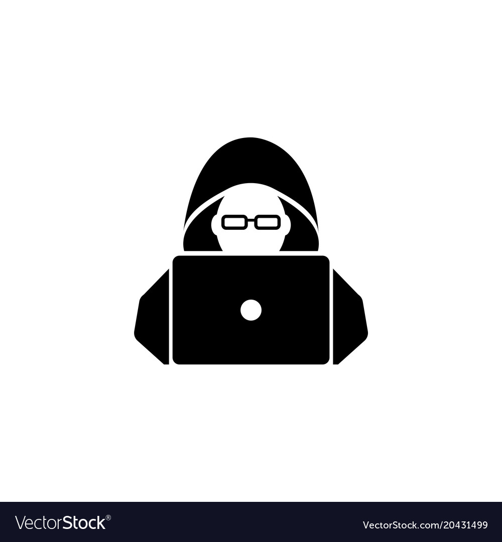 hacker flat icon royalty free vector ima 806090 png images pngio pngio com