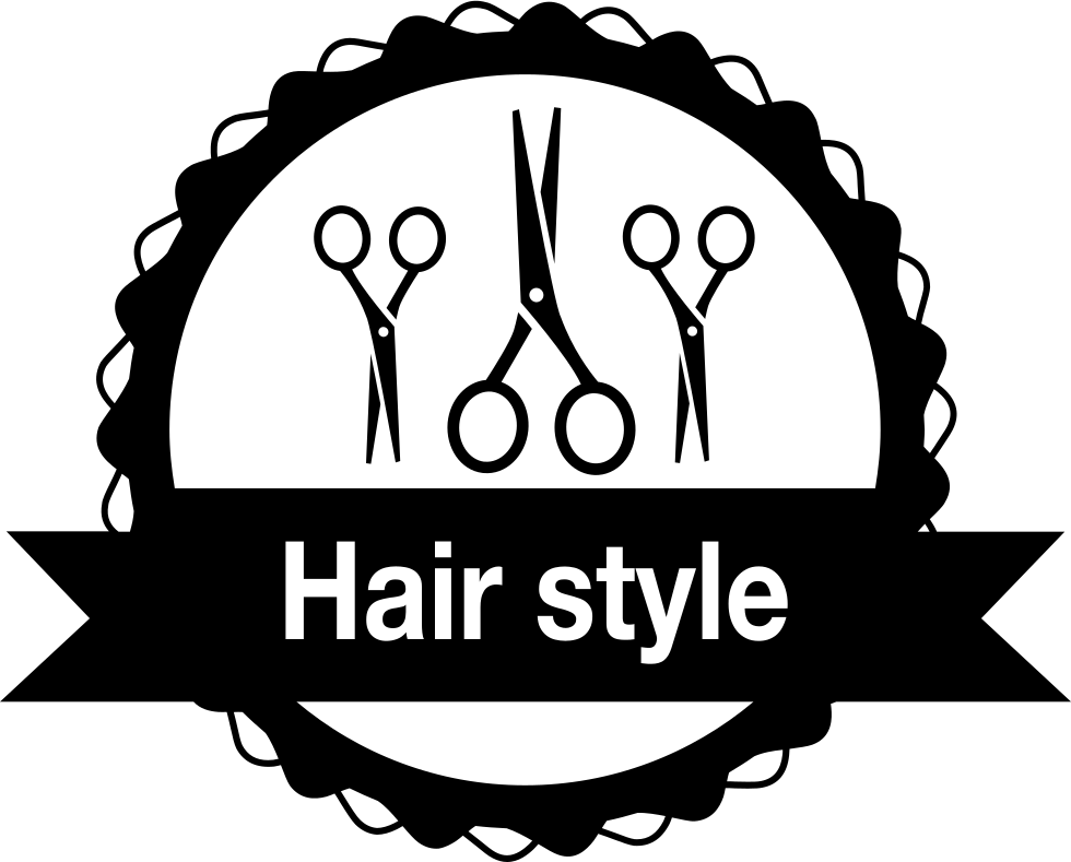 Hair Salon Png - Hair Salon Badge With Scissors Svg Png Icon Free Download (#62147 ...